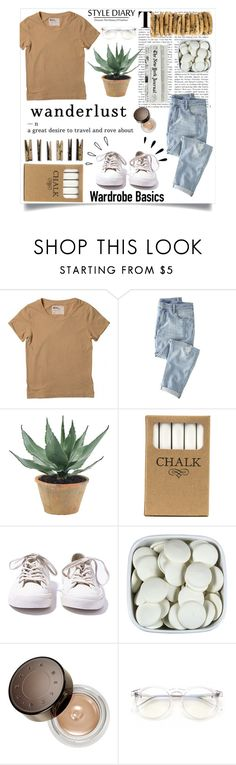 """""""Untitled #132"""" by catherineabramiuc ❤ liked on Polyvore featuring Wrap, NDI, Laundry, Mason's, Jayson Home, Converse, Becca, Wildfox, Old Navy and vintage"""