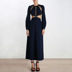 Esplanade Rivet Dress by Zimmermann
