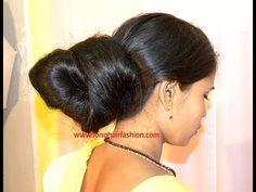 Big Bun, Rapunzel Hair, Long Hair Video, Bun Hairstyles, Hair Lengths, Long Hair Styles, Hair Videos, Buns, Indian