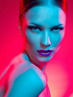 Colorful Beauty Portrait by David Benoliel Photography