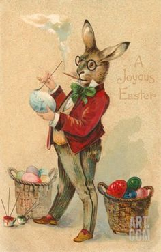 Who knew the Easter bunny was a smoker?