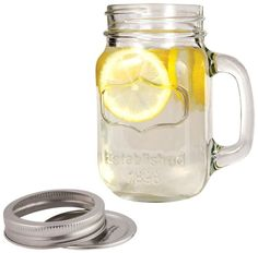 mason jars with lids farmhouse stein twine