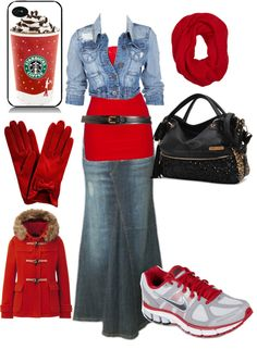"""""""Going to Starbucks!!!!"""" by luvpurple2016 ❤ liked on Polyvore"""