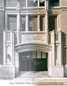 http://www.boumbang.com/urbex-detroit/ Detroit Urbex, L'entrée de 1917 ©