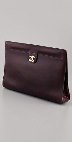 Vintage Chanel clutch