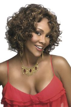 Vivica A. Fox Deep Synthetic Lace Front Wig CHILLI-V