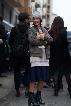 On the Street….Via Beltrami, Milan (The Sartorialist) The Sartorialist, Look Fashion, Girl Fashion, Autumn Fashion, Womens Fashion, Net Fashion, Street Fashion, Milan Fashion, Parisienne Chic