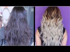 CAMBIO DE CABELLO EXTREMO EN 1 DIA / BALAYAGE PASO APASO EN CASA - YouTube Hair Color Formulas, Salons, Long Hair Styles, Youtube, Vixen, Spinning, Beauty, Beautiful Family, Beleza