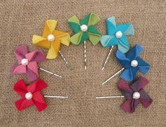 pinwheel bobby pins.