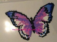 1maman2filles perles hama papillon