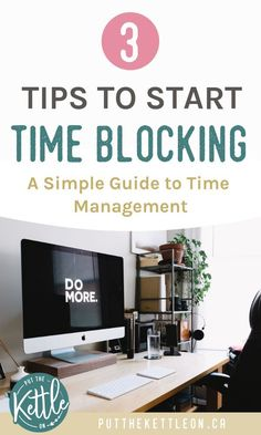 This one simple time blocking tip is the time management trick that will help you increase your productivity I use this productivity hack every day which helps me have a more balanced life for other important things like family and self care. Time Management Strategies, Time Management Skills, Project Management, Work Life Balance, Productivity Hacks, Productivity Management, Business Management, Start Time, Keeping A Journal