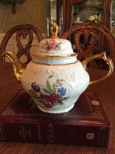 RARE Diplomat Sanssouci Rosenthal Ivory Germany Tea Pot  | eBay