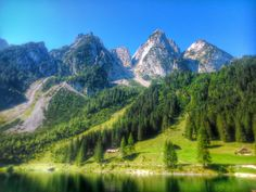 Gosausee Austria [OC] [3264x2448]