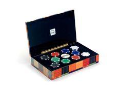 Fichas de casino en caja moderna - www.mentesdiferentes.com