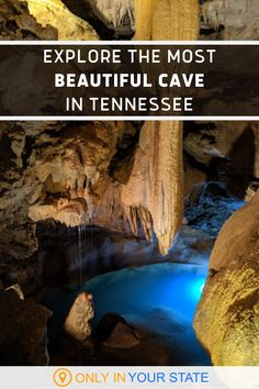 Explore a beautiful underground cave during this tour of Cumberland Caverns in Tennessee. You'll love their peaceful natural pools and live music events.   Family Friendly   Kids   Day Trips   Unique   Nature   Summer Travel   Vacation   Photography Lap Pools, Indoor Pools, Backyard Pools, Pool Decks, Pool Landscaping, Swimming Pools, Vacation Trips, Day Trips, Vacation Ideas