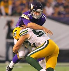 Soft Zone or Blitz? What Will Packers DC Dom Capers Do? - http://jerseyal.com/GBP/2013/01/03/soft-zone-or-blitz-what-will-packers-dc-dom-capers-do/ http://jerseyal.com/GBP/wp-content/uploads/2013/01/Ponder-sack-291x300.jpg