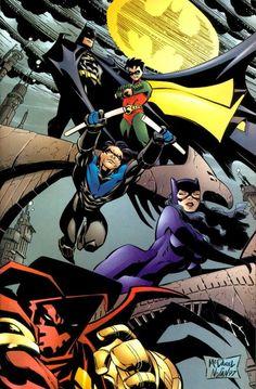 What batgirl cali logan superheroine in peril consider
