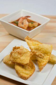 Deep-fried Wontons 錦鹵雲吞01