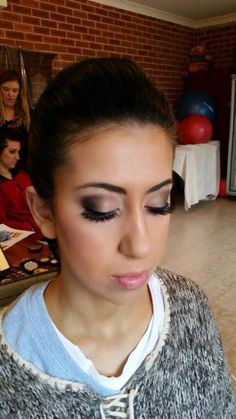 One of our stunning makeup styles Hair & Makeup enquiries :  Weddings@wyecosmetics.com.au 1300 993 267