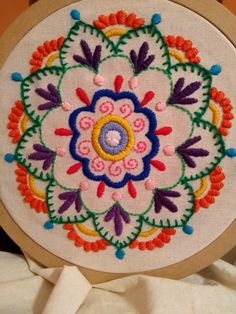 crewel embroidery kits for sale Hand Work Embroidery, Creative Embroidery, Embroidery Patterns Free, Hand Embroidery Stitches, Embroidery Hoop Art, Crewel Embroidery, Hand Embroidery Designs, Beaded Embroidery, Cross Stitch Embroidery