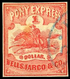 History Today :: 1st Pony Express