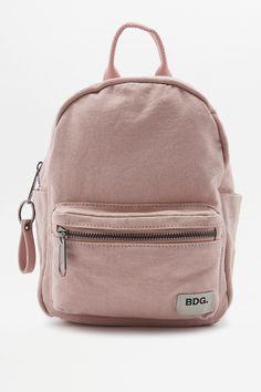 Slide View: 1: BDG Canvas Mini Backpack