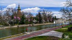Timisoara in Spring. photo by Mercea Adrian Visit Romania, Belgium, Europe, Explore, Mansions, House Styles, Spring, Travel, Viajes