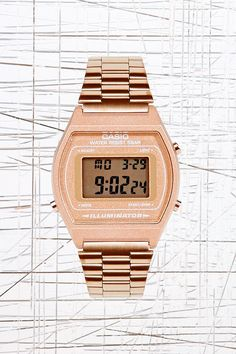 Casio Digital Watch in Bronze
