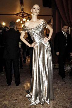 Fashion Dresses   Rosamaria G Frangini    Elie Saab at Couture Fall 2007 (Backstage)