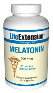 Life Extension Melatonin | 300 mcg 100 capsules ( Multi-Pack) by Life Extension. $15.30. Life Extension Melatonin | 300 mcg 100 capsules. TRIPLE VALUE PACK! You are buying THREE of Life Extension Melatonin | 300 mcg 100 capsules Melatonin releases from the pineal gland, reaching its peak at night to help maintain healthy cell division in tissues throughout the body.. TRIPLE VALUE PACK of Life Extension Melatonin | 300 mcg 100 capsules - Melatonin releases from th...