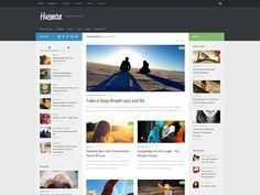 Nouveau thème pour le site, Hueman