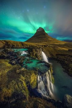 View of Kirkjufell Mountain, Iceland