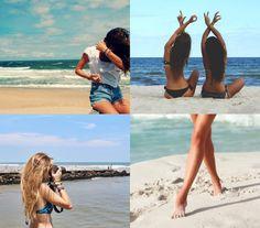 Blog da Andressa Cunha: Dicas de fotos: 24 Inspirações de fotos legais na PRAIA ♥