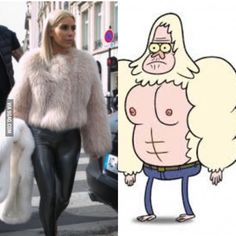 Who wore it better?.