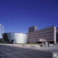Municipal and State Library, Dortmund/ Mario Botta