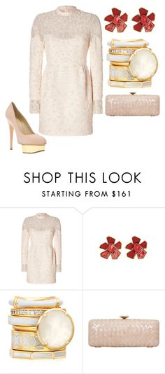 """Untitled #22703"" by edasn12 ❤ liked on Polyvore featuring Valentino, Oscar de la Renta and Charlotte Olympia"