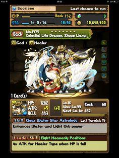 Celestial Life Dragon, Zhuge Liang