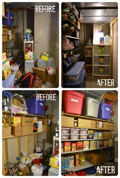 Storage Room Organization in One Day