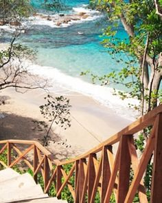 I would love to walk down these steps... Cap Maison Villa Resort & Spa - Cap Estate, St. Lucia #Jetsetter #JSTakeMeThere