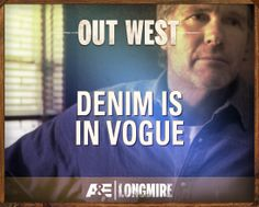 Longmire on A&E