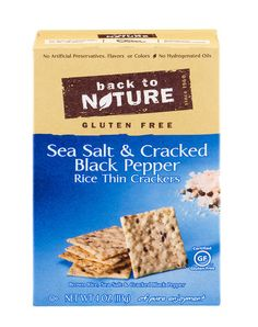 Look for hearty (gluten-free) grains and seeds in your snacks to keep them healthy.