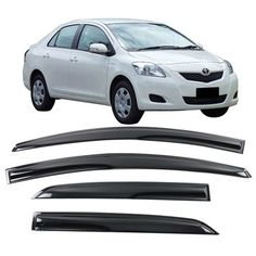 Front = Rear Black Chrome Inner Door Handle RH 2007-2011 Toyota Yaris Hatchback