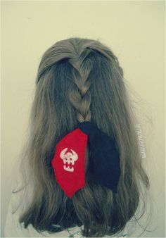 Cute Idea for the How To Train a Dragon fans (cute hairstyles for kids disney) Httyd, Hiccup And Toothless, Toothless Costume, Toothless Dragon, Dragon Birthday, Dragon Party, How To Train Dragon, How To Train Your, Diy Tumblr