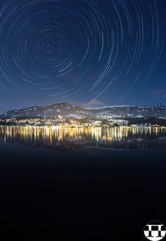 #Orbital #Motion #Lake #Millstatt In #Winter @500px #500px #startrail #nightsky #longexposure @carinzia #carinthia #austria #nightlights #nature