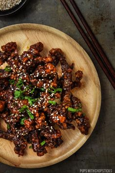 Super crispy beef tossed with a sweet and sticky sauce - better than take out!
