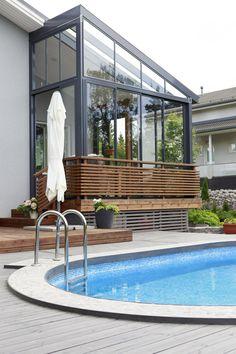 Pools, Outdoor Decor, Instagram, Home Decor, Houses, Decoration Home, Room Decor, Home Interior Design, Swimming Pools