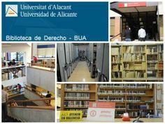 En la planta baja del edificio Facultad de Derecho. Universidad de Alicante. Teléfono: 965 90 3400 (ext. 9337) Fax: 965903630 E-mail:   Bibli.Dret@ua.es __________________________  Directora: Mª Dolores Merás Menéndez Teléfono:  965 90 3574