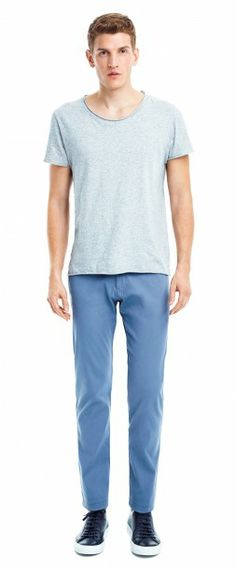 Lt. Single Jersey Roll Edge Tee from Filippa K