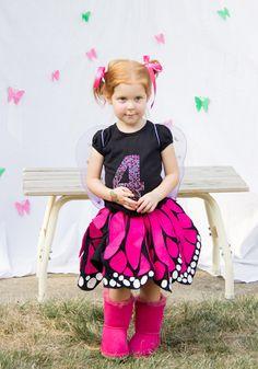 DIY Twirly Butterfly Skirt Tutorial