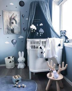 Baby Bedroom, Baby Boy Rooms, Baby Boy Nurseries, Nursery Room, Kids Bedroom, Nursery Decor, Baby Zimmer, Toddler Rooms, Kid Spaces